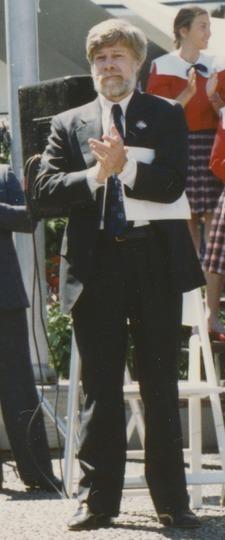 Bob Walsh at the 1990 Goodwill Games